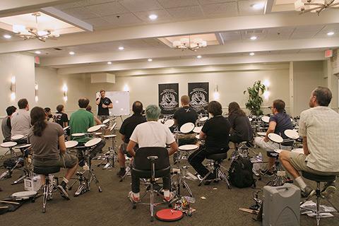 Big Drum Bonanza 2015 - Undervisningslokalet