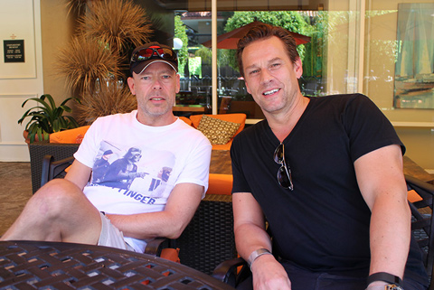 Big Drum Bonanza 2015 - Heine mødes med Thomas Lang