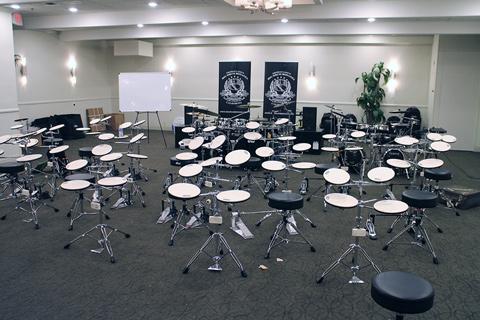 Big Drum Bonanza 2015 - Øvesæt sat klar
