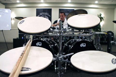Big Drum Bonanza 2015 - Udsynet fra min plads