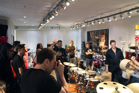 Big Drum Bonanza 2015 - DW rundtur, showroom
