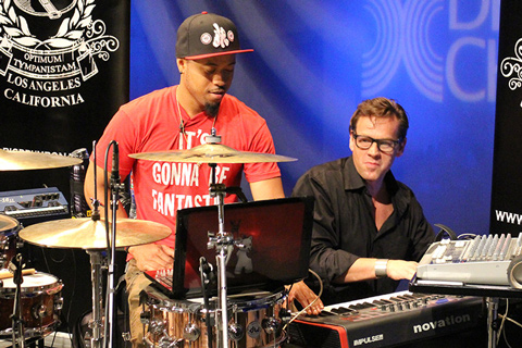Big Drum Bonanza 2015 - Thomas Lang og Tony Royster Jr
