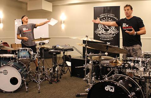 Big Drum Bonanza 2015 - Nu er det Gregg Bissonette på programmet.