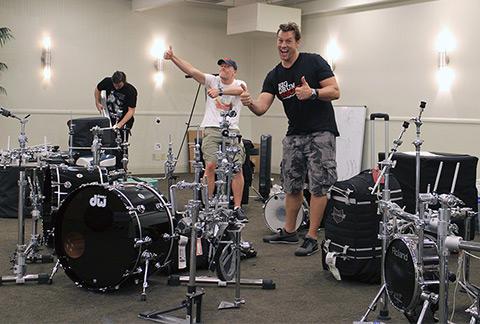 Big Drum Bonanza 2015 - Der pakkes sammen – dog med højt humør.