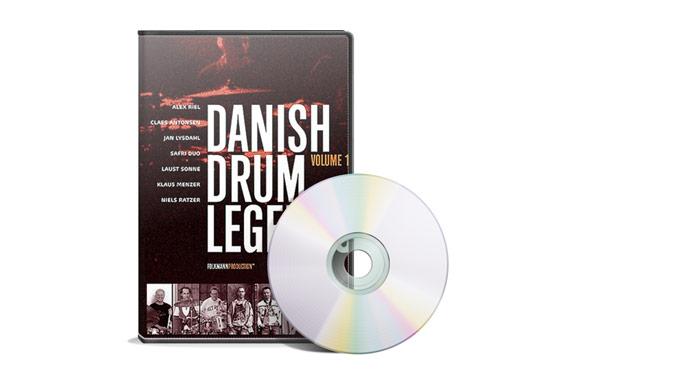 Danish Drum Legends DVD på TRommeslageren.dk