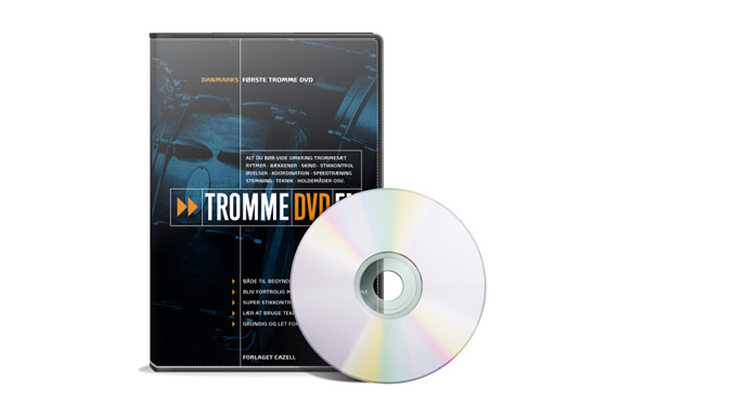 Tromme DVD'en anmeldt på Trommeslageren.dk