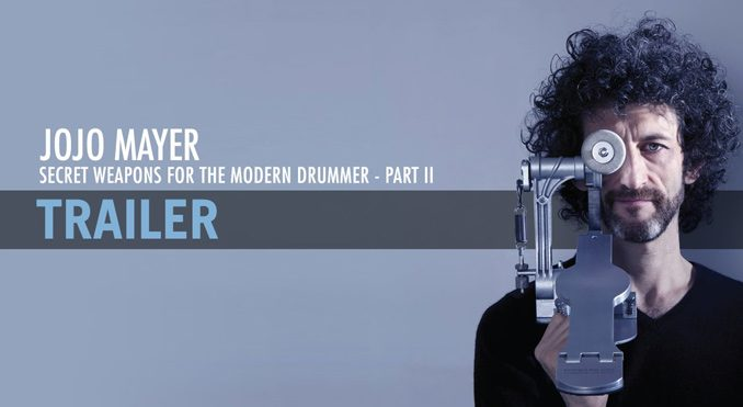 Jojo Mayer Secret Weapon 2 - Trommeslageren.dk