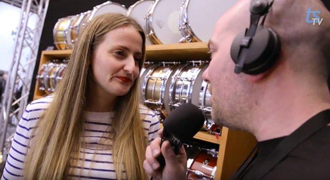 Brady Drums Musikmesse 2014 - Trommeslageren.dk