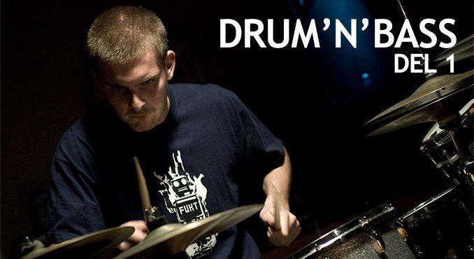 Drum'n'base del - 1 - Anders Meinhardt - Trommeslageren.dk