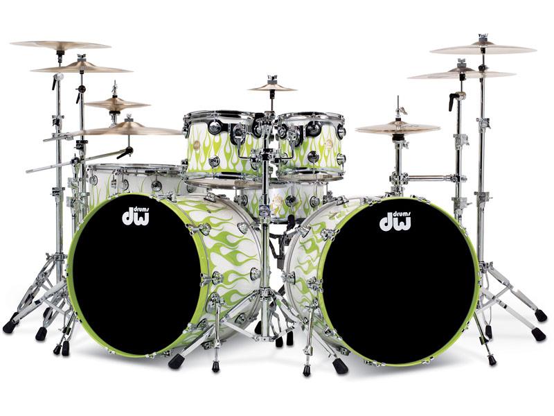 DW Drums' historie på Trommeslageren.dk