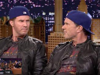 Chad Smith & Will Ferrell - Drum Battle - Trommeslageren.dk