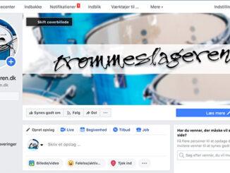 Trommeslageren.dk's facebook-side